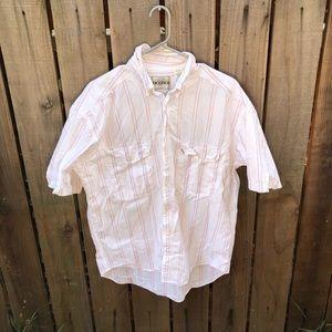 Vintage Levi's Men's Button up Shirt